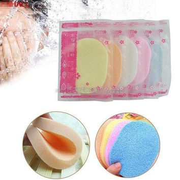 ESBON Beauty Soft Facial Face Wash Cleansing Sponge Puff Pad Makeup Remover Puffs New #H027#