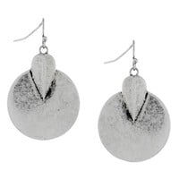 Women's Vince Camuto 'Nomad Queen' Drop Earrings - Oxidized Silver