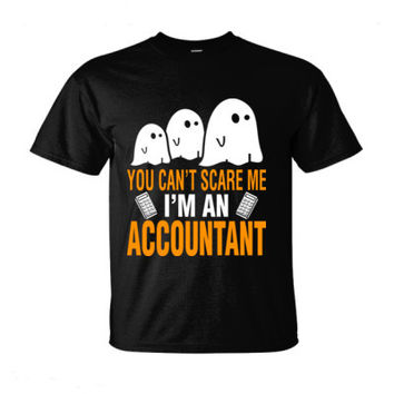 Halloween You Cant Scare Me I Am An Accountant - Ultra-Cotton T-Shirt