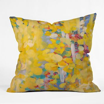 Stephanie Corfee Princess Buttercup Outdoor Throw Pillow