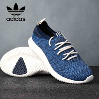 Adidas Tubular Shadow Yeezy Trending Women Men Casual Knit Running Sport Shoe Sneakers Blue I-CSXY