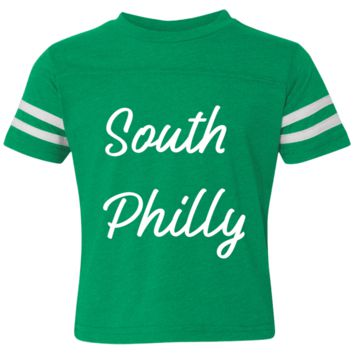 Retro South Philly Toddler Football Fine Jersey T-Shirt