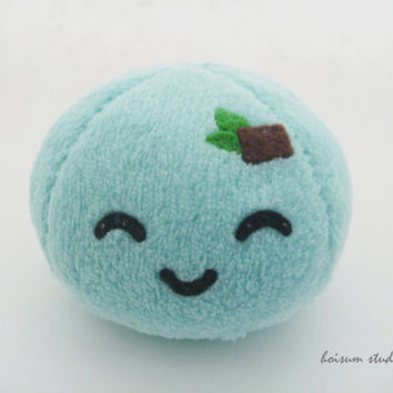 Mochi Plush - Mint Chocolate Chip Flavor