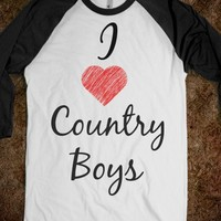 I Love Country Boys - Amber's Apparel