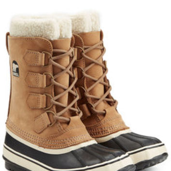 Tivoli II Suede and Rubber Short Boots - Sorel | WOMEN | US STYLEBOP.com
