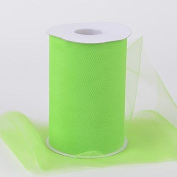Apple Green Tulle Roll