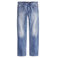 J.Crew Mens 1040 Slim-Straight Jean In Light Indigo Wash