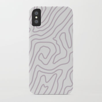 Abstract landscape iPhone Case by printapix