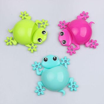 DCCKL72 Creative Gecko Cartoon Toothbrush Holder Toothpaste Container Wall Sucker Suction Hook Bathroom Sets 1pcs