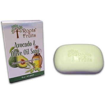 Roots and Fruits Bar Soap Avocado and Olive Oil (1x5.0 Oz)