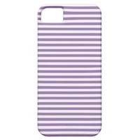 Bellflower And White Stripes iPhone 5 Cases
