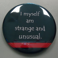 This Button Is Channeling Lydia Deetz by kohaku16 on Etsy