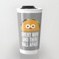 Taco Eclipse of the Heart Travel Mug by David Olenick