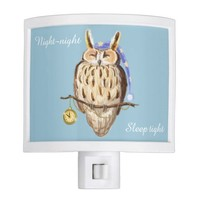 Sleeping Owl night-night sleep tight