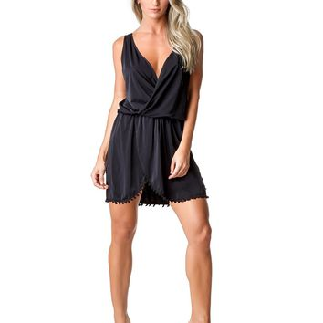 DRESS COVER-UP 53 HIPPIE BLACK