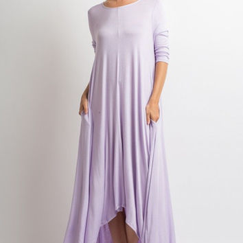 Free Falling Maxi Dress - Lavender
