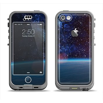 The Glowing Universe Sunrise Apple iPhone 5c LifeProof Nuud Case Skin Set