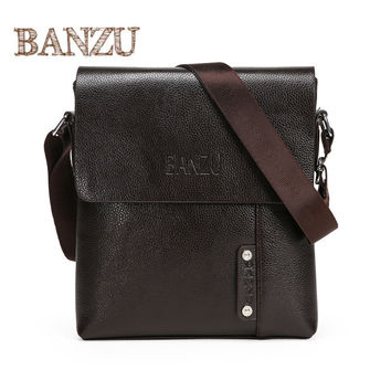Leather Men Bag Fashion Men Messenger Bag small Business crossbody Briefcase Bag for Man luxury designer handbag high quality