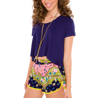 Summer Is Here Pom Pom Shorts