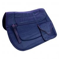 Intrepid International Cushioned Trail Saddle Pad with All Purpose Pocket