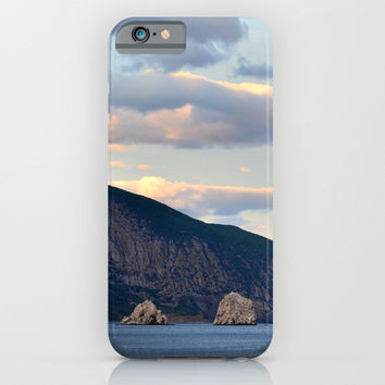 Mountain landscape iPhone & iPod Case by ArtGenerations