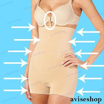 Girdle Body SHAPEWEAR SLIMMING Seamless HIGH WAIST BOYSHORT SPANDEX