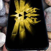 triforce legend of zelda for iPhone 4/4s, iPhone 5/5S/5C/6, Samsung S3/S4/S5 Unique Case *76*