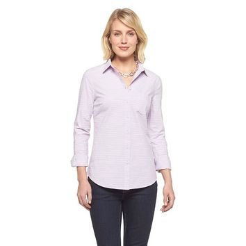 Women's Dobby Stripe Favorite Shirt Merona®