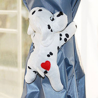 Free Shipping 2 pcs Cute Puppy Shape Window curtain Clasps Holders Buckle Tieback Belt Hook furniture Home Decor accessories