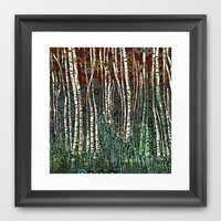 :: Wild in the Woods :: Framed Art Print by GaleStorm Artworks