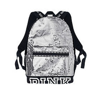 Bling Campus Backpack - PINK - Victoria's Secret