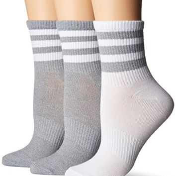 adidas Women's Originals Superlite 3-Pack Quarter Socks