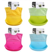 Baby and Toddler Waterproof Feeding Bib