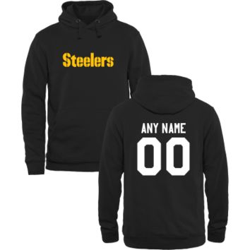 Men's Pittsburgh Steelers Design Your Own Pullover Hoodie