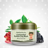 Deep Pore Cleansing Clay Mask Carbonated Bubble Fast Anti-Acne Moisturizing Face Mask