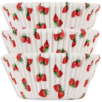 Strawberry Baking Cups