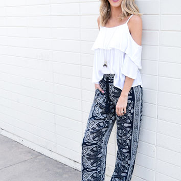 Dubois Printed Pants