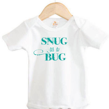 Baby Apparel // Snug as a Bug Onesuit // fun Onesuit // infant apparel