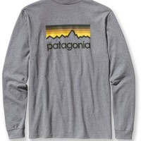 Patagonia Line Logo Cotton T-Shirt - Men's