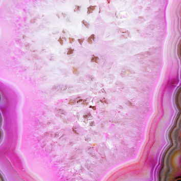 Pink Agate by Andrea Anderegg Photography