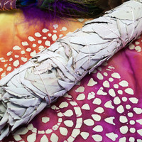 SMUDGE BUNDLE California White Sage XL - Smudging Tool to Cleanse Your Space