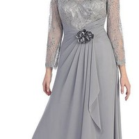 Mother of the Bride Dress Long Formal Clearance