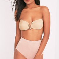 Nude Push Up Stick On Bra