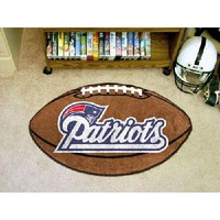 "New England Patriots NFL ""Football"" Floor Mat (22""x35"")"