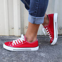 Go-To Sneaks {Red}