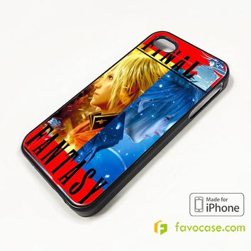FACE OFF FINAL FANTASY iPhone 4/4S 5/5S/SE 5C 6/6S 7 8 Plus X Case Cover