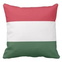 Hungarian flag pillow