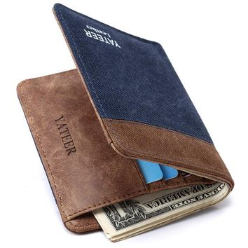Men Wallets Purses Masculine Billeteras Male Thin  Wallet