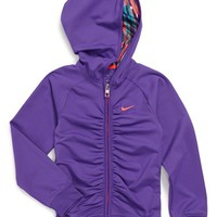 Girl's Nike Dri-FIT Ruched Hoodie
