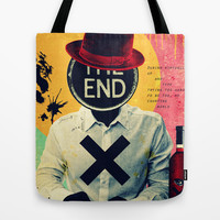 The End Tote Bag by Alec Goss
